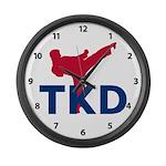 TKD Large Wall Clock