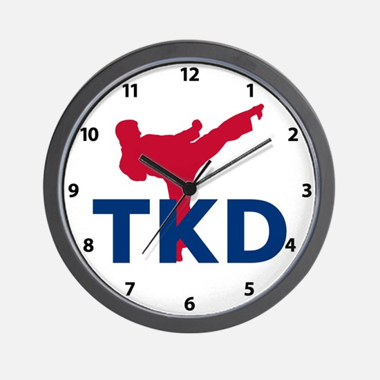TKD Wall Clock