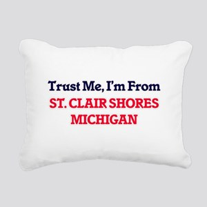 Trust Me, I'm from St. C Rectangular Canvas Pillow