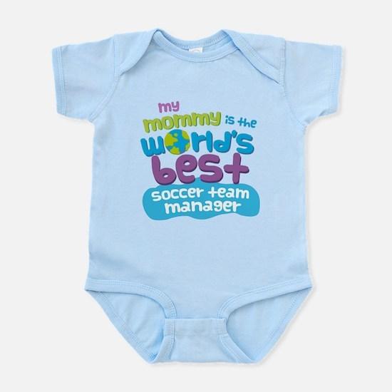 Soccer Team Manager Gift for Kids Infant Bodysuit