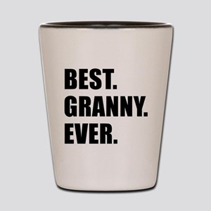 Best Granny Ever Drinkware Shot Glass