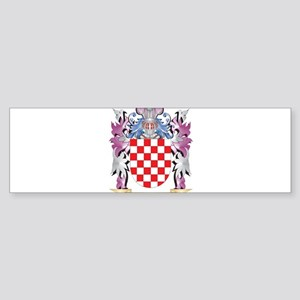 Beek Coat of Arms (Family Crest) Bumper Sticker