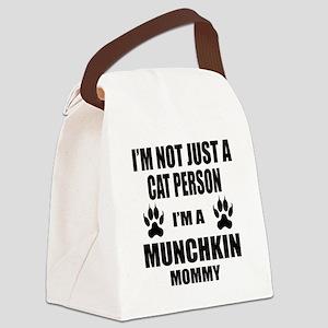 I'm a Munchkin Mommy Canvas Lunch Bag