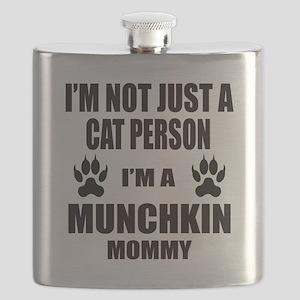 I'm a Munchkin Mommy Flask