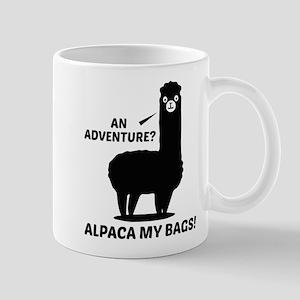 Alpaca My Bags Large Mugs