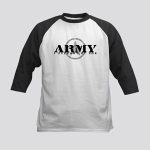 Army - I Support My Son Kids Baseball Jersey