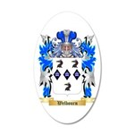 Welbourn 20x12 Oval Wall Decal