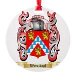 Weiszkopf Round Ornament