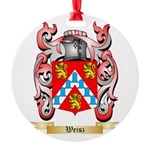 Weisz Round Ornament