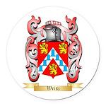 Weisz Round Car Magnet