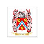 Weisz Square Sticker 3