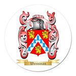 Weissman Round Car Magnet