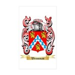 Weissman Sticker (Rectangle 50 pk)