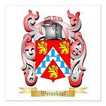 Weisskopf Square Car Magnet 3
