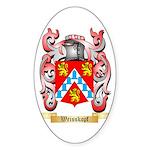 Weisskopf Sticker (Oval 50 pk)