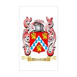 Weisskirch Sticker (Rectangle)