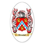 Weisshof Sticker (Oval 50 pk)