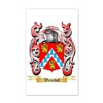 Weisshof 35x21 Wall Decal