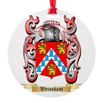 Weisshaut Round Ornament