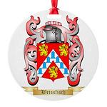 Weissfisch Round Ornament