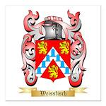 Weissfisch Square Car Magnet 3