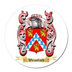 Weissfisch Round Car Magnet