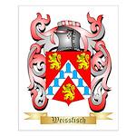 Weissfisch Small Poster