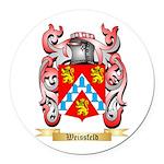 Weissfeld Round Car Magnet