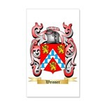 Weisser 35x21 Wall Decal