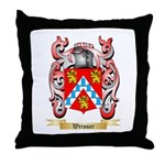 Weisser Throw Pillow
