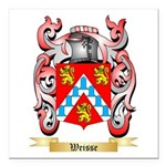 Weisse Square Car Magnet 3