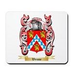 Weisse Mousepad