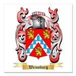 Weissburg Square Car Magnet 3