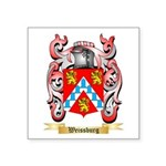 Weissburg Square Sticker 3