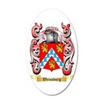 Weissburg 35x21 Oval Wall Decal
