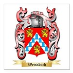 Weissbuch Square Car Magnet 3