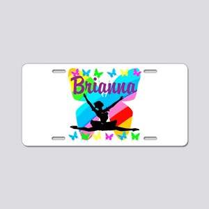 CUSTOM BALLET Aluminum License Plate
