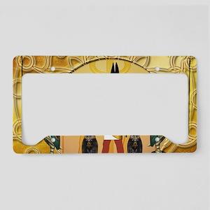 Anubis the god License Plate Holder