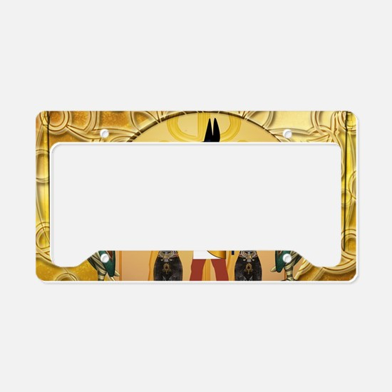 Anubis the god License Plate Holder