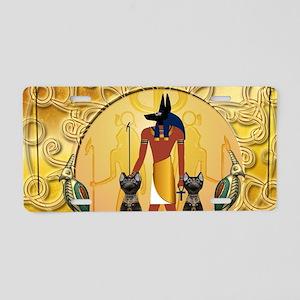 Anubis the god Aluminum License Plate