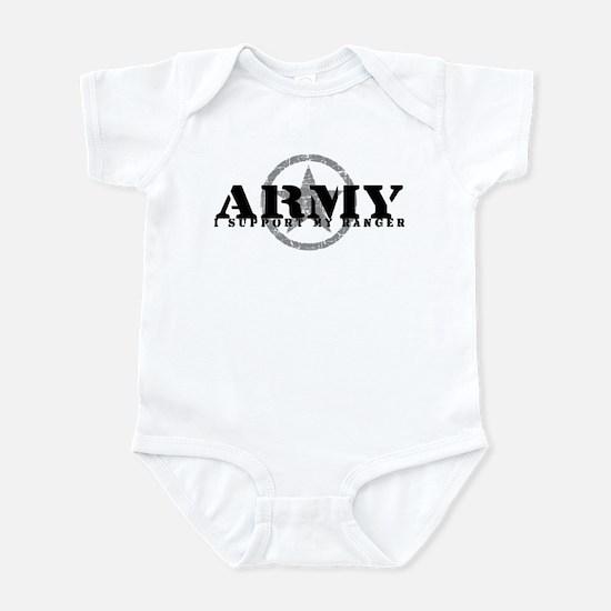 Army - I Support My Ranger Infant Bodysuit