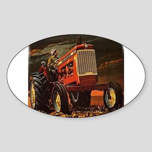 Rural America Oval Sticker