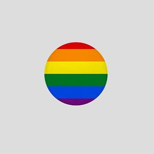 Rainbow Flag Mini Button