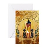 Ancient egypt Greeting Cards