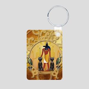 Anubis the god Keychains