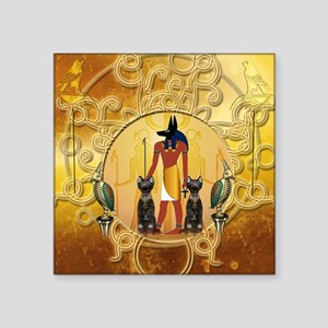 Anubis the god Sticker