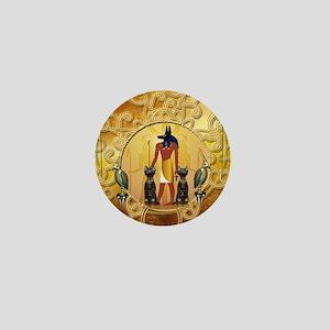 Anubis the god Mini Button