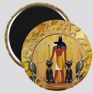 Anubis the god Magnets