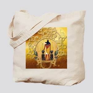 Anubis the god Tote Bag