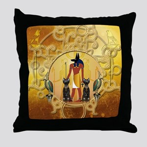Anubis the god Throw Pillow